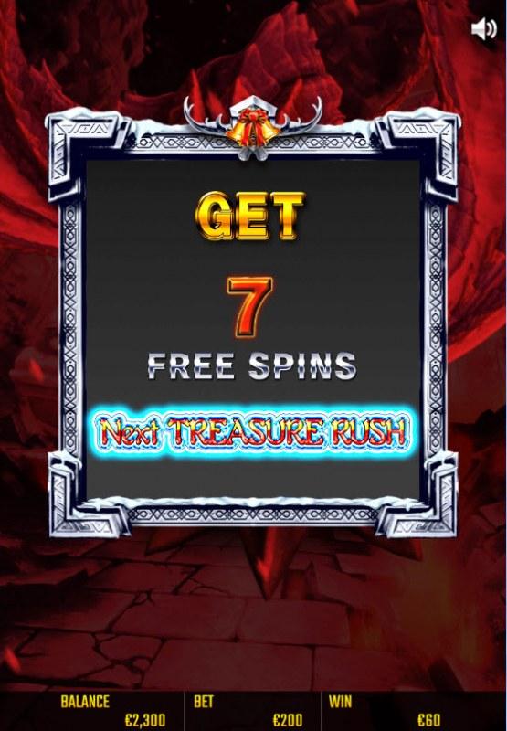 Battle Dwarf Xmas :: 7 free spins awarded