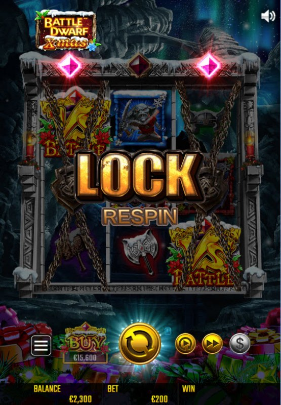 Battle Dwarf Xmas :: Respin Feature