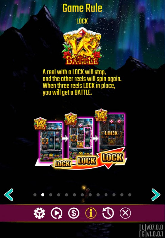 Battle Dwarf Xmas :: Lock and Spin Feature