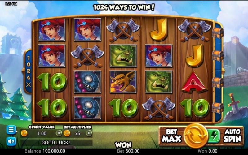 Battle Heroes :: Base Game Screen