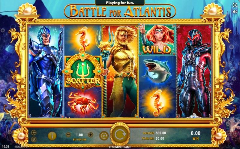 Battle of Atlantis :: Main Game Board