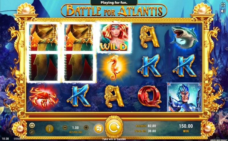 Battle of Atlantis :: Three of a kind