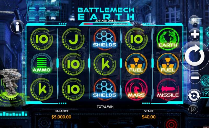 Battlemech Earth :: Main Game Board