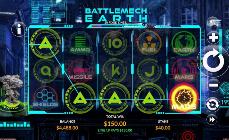 Battlemech Earth :: Five of a kind