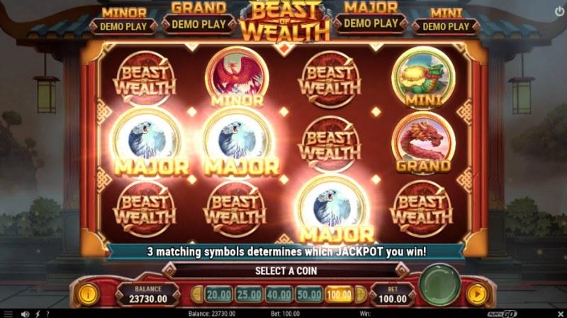 Beast of Wealth :: Major jackpot awarded