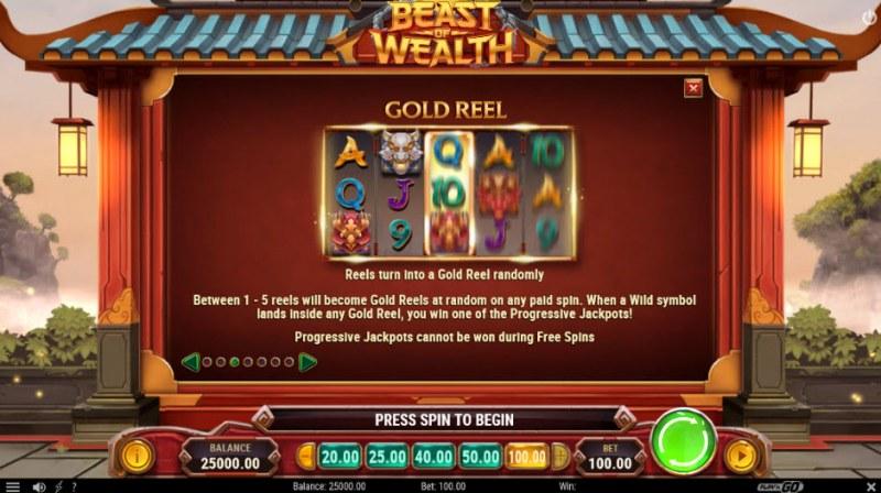 Beast of Wealth :: Gold Reel