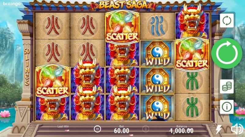Beast Saga :: Main Game Board