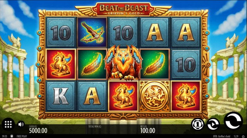 Beat the Beast Griffin's Gold :: Main Game Board