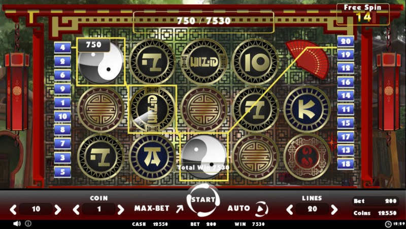 Beating Slot Old China :: Free Spins Game Board