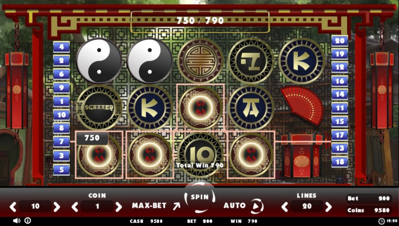 Beating Slot Old China :: Four of a kind