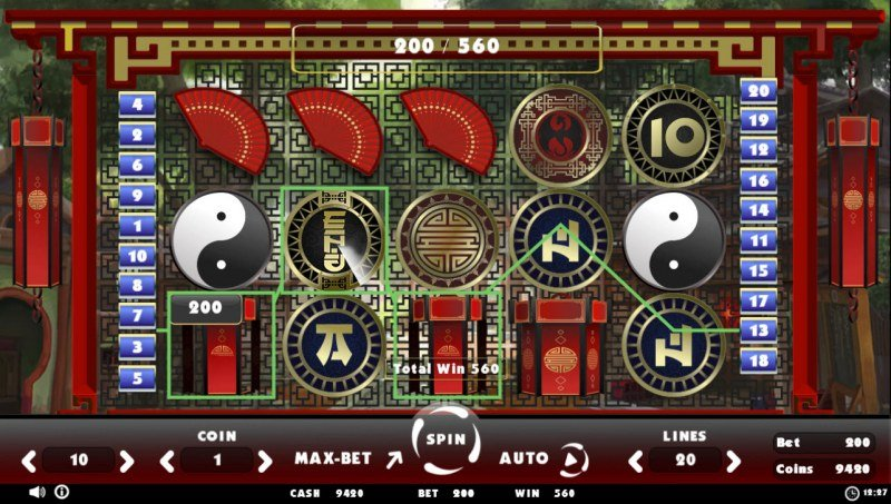 Beating Slot Old China :: Three of a kind