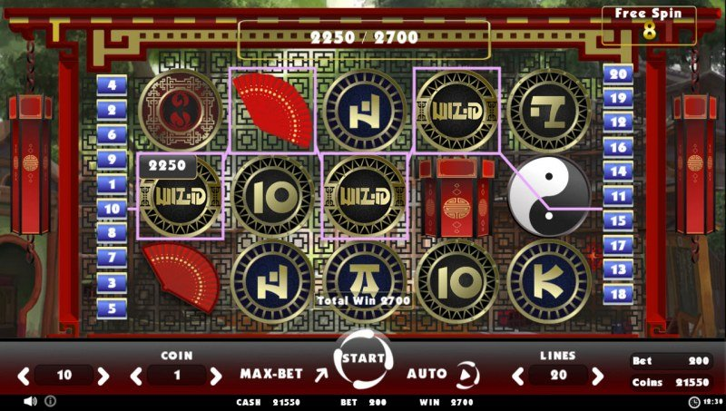 Beating Slot Old China :: Multiple winning paylines