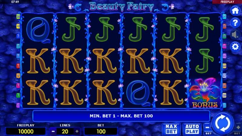 Beauty Fairy :: Main Game Board