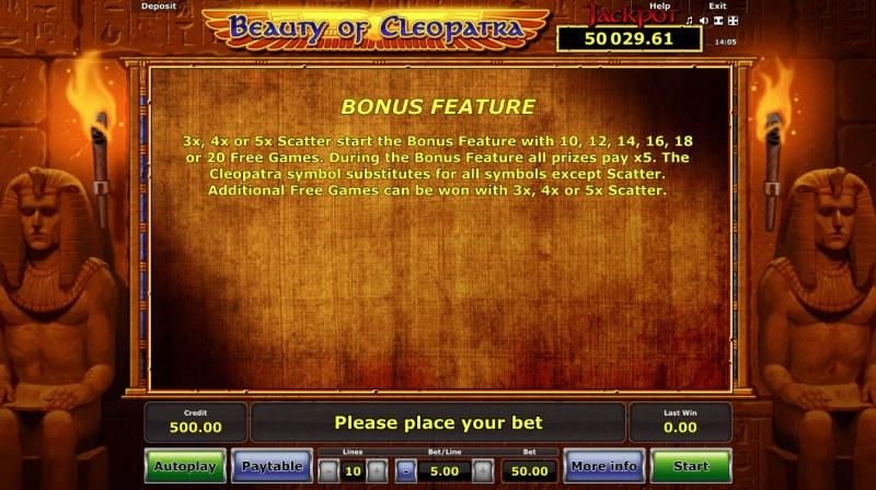 Beauty of Cleopatra :: Bonus Feature