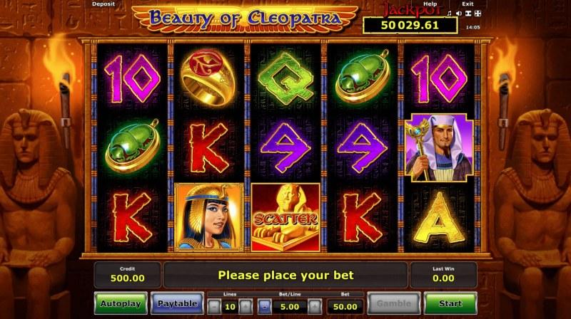 Beauty of Cleopatra :: Main Game Board