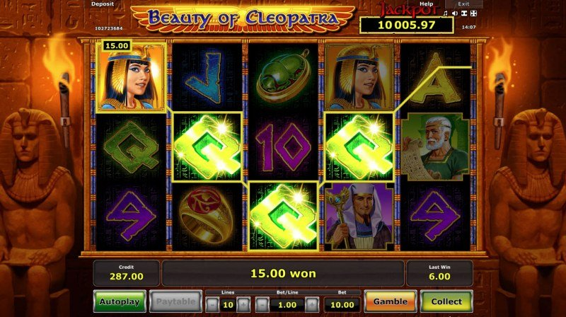 Beauty of Cleopatra :: Four of a kind