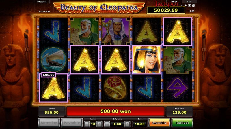 Beauty of Cleopatra :: Five of a kind