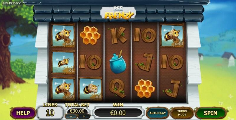 Bee Frenzy :: Main Game Board