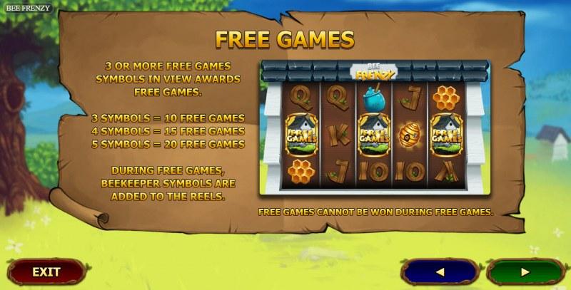 Bee Frenzy :: Free Game Rules