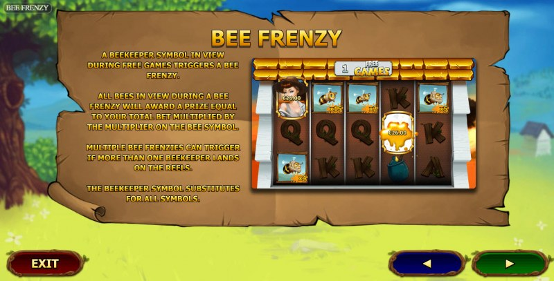 Bee Frenzy :: Feature Rules