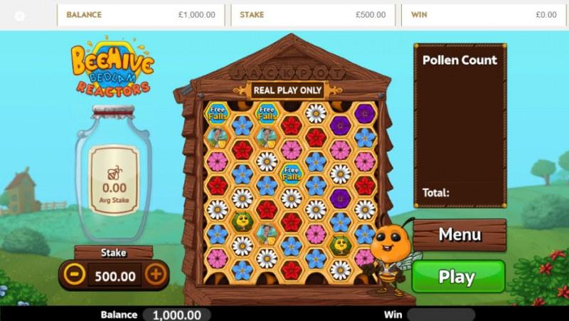 Beehive Bedlam Reactors :: Main Game Board