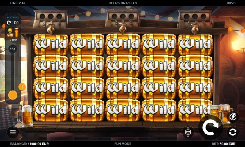 Beers on Reels :: Main Game Board
