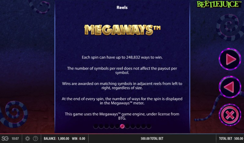 Beetlejuice Megaways :: Megaways