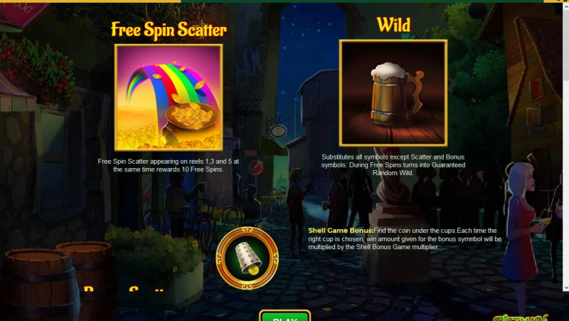 Betman Son of a Leprechaun :: Wild and Scatter Rules