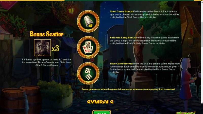 Betman Son of a Leprechaun :: Bonus Game Rules