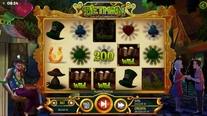 Betman Son of a Leprechaun :: Multiple winning paylines