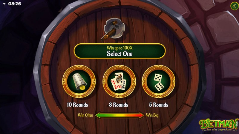 Betman Son of a Leprechaun :: Pick your bonus game feature