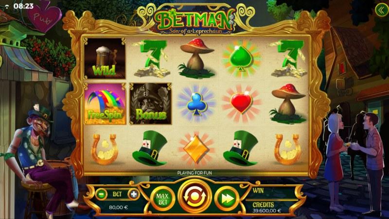 Betman Son of a Leprechaun :: Main Game Board