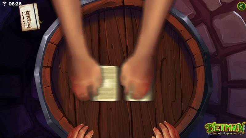 Betman Son of a Leprechaun :: Cards are shuffled
