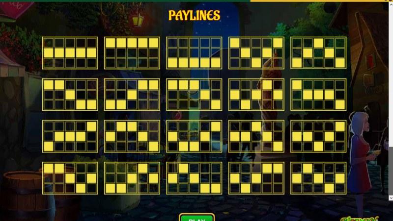 Betman Son of a Leprechaun :: Paylines 1-20