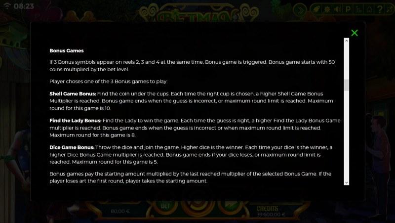 Betman Son of a Leprechaun :: General Game Rules
