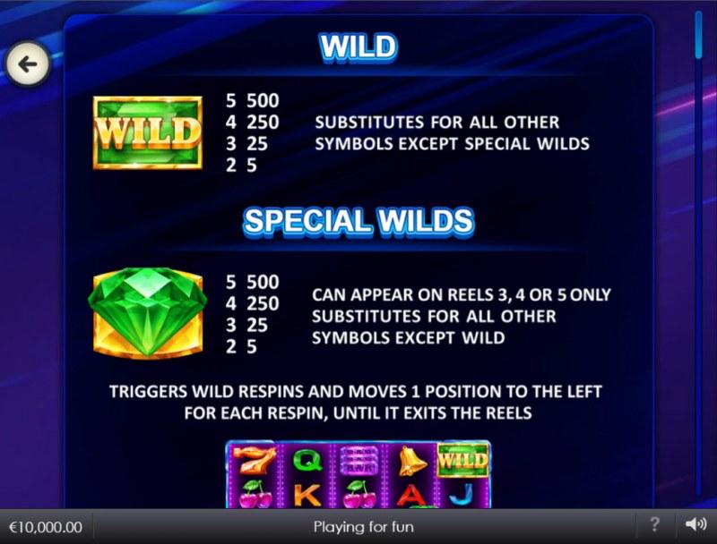 Better Wilds :: Wild Symbol Rules