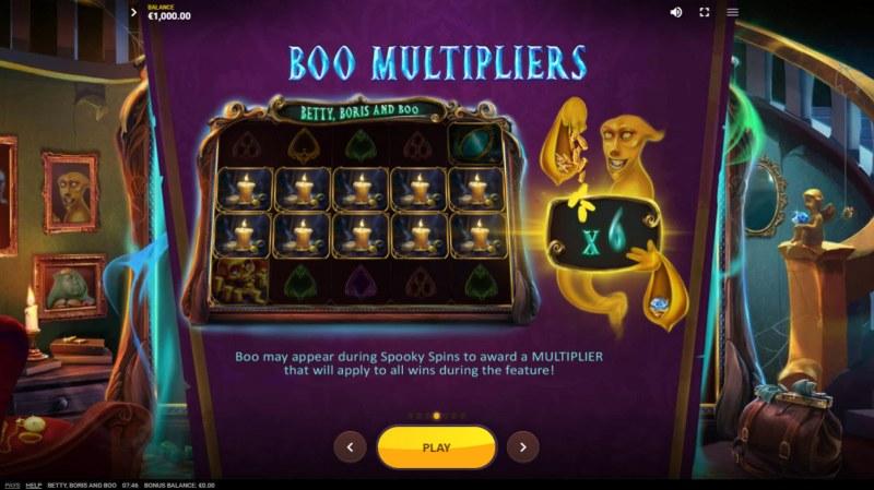 Betty, Boris and Boo :: Boo Multipliers