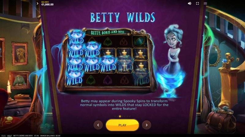 Betty, Boris and Boo :: Betty Wilds