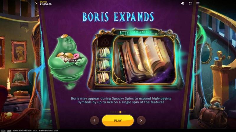 Betty, Boris and Boo :: Boris Expands