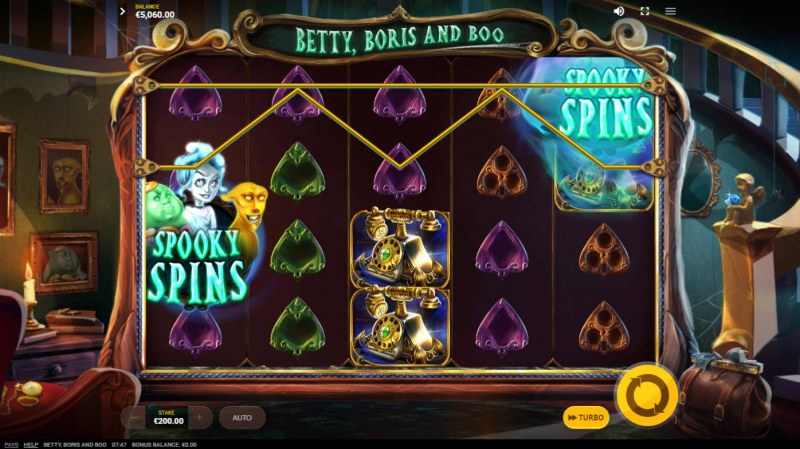 Betty, Boris and Boo :: Scatter symbols remain sticky