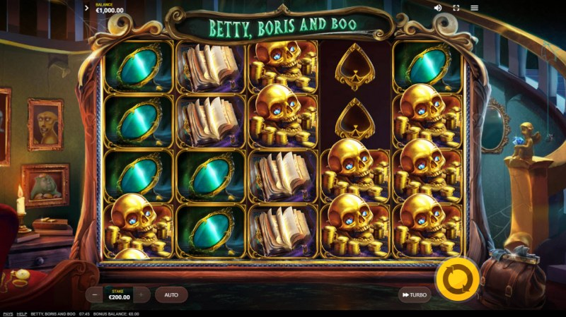 Betty, Boris and Boo :: Main Game Board