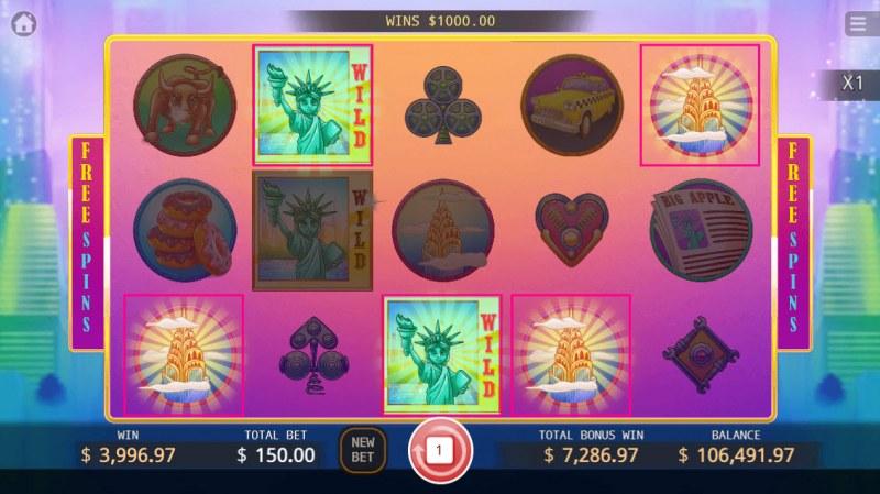 Big Apple :: Multiple winning paylines