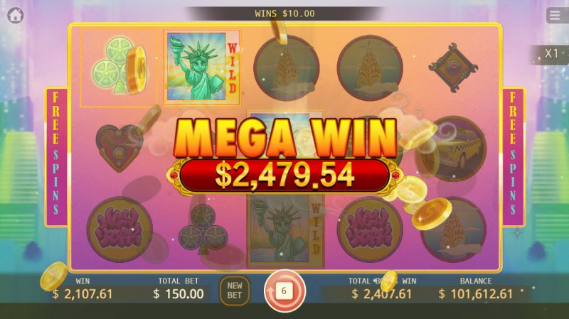 Big Apple :: Mega Win