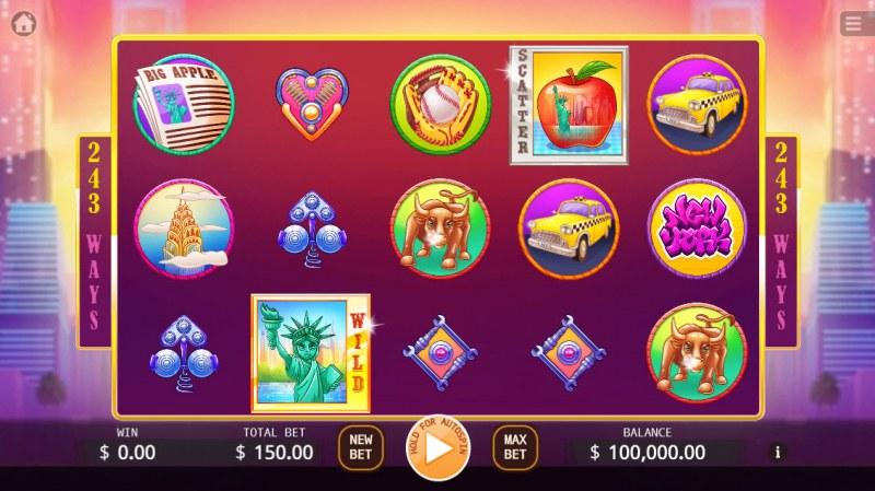 Big Apple :: Main Game Board