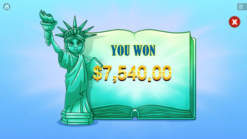 Big Apple :: Total free spins payout