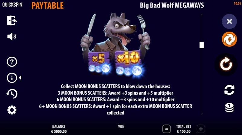 Big Bad Wolf Megaways :: Feature Rules