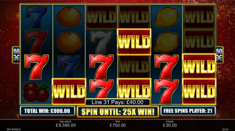 Big Bonus :: Multiple winning paylines