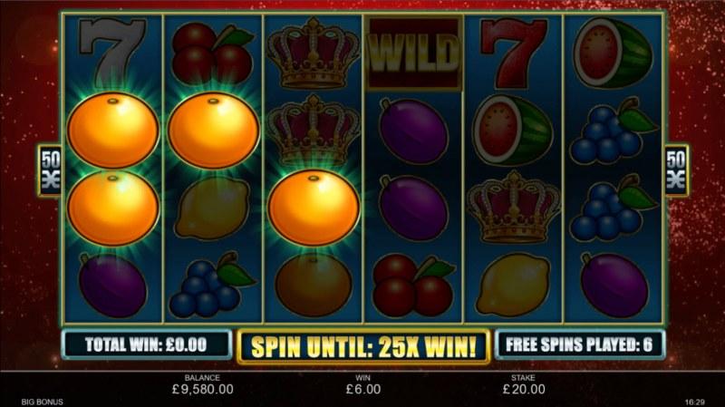 Big Bonus :: Free Spins Game Board