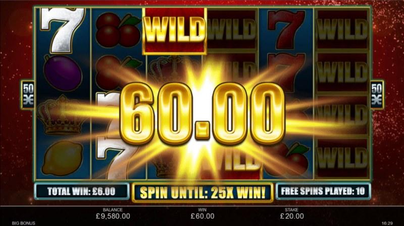 Big Bonus :: A three of a kind win