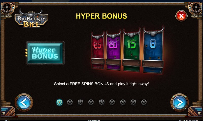 Big Bounty Bill :: Hyper Bonus